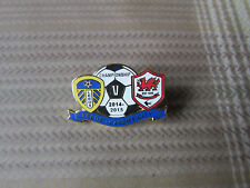 LEEDS United v CARDIFF City Championship 2014 - 2015 FOOTBALL Pin Badge