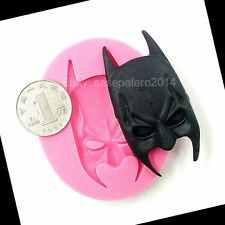 Batman mask silicone mold for fondant. Superhero. Molde silicona mascara Batman