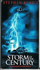 Storm of the Century~Stephen King(1999)VHS 2-TAPE SET EDITION~VERY GOOD~VTG~RARE
