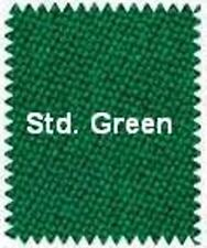 VELOCITY PRO ~ 8' BED CLOTH & RAILS ~ Pool Table Cloth - STANDARD GREEN