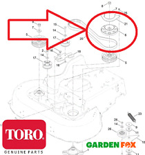 Genuine TORO Timemaster 20975/77 Cutter PULLEY BRAKE SPINDLE BASE 130-6664 558