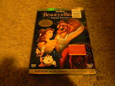 BEAUTY AND THE BEAST SPECIAL EDITION, DVD, 2-DISC SET, DISNEY-ANIM, GREAT SHAPE