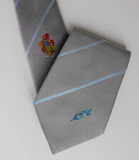 Maesteg Town Council tie Silver crested Talbot South Wales MTC Welsh corporation