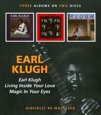 Earl Klugh/Living Inside Your Love/Magic in Your Eyes by Earl Klugh *New CD*