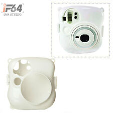 Fuji Fujifilm Instax Mini 25 Polaroid Camera Crystal Plastic Protect Case Clear