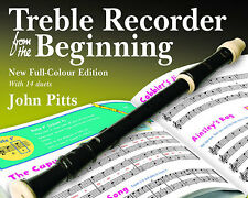 John Pitts Treble Recorder From The Beginning Learn to Play Lesson Music Book