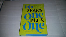 One Plus One by Jojo Moyes (2014, Hardcover) SIGNED 1st/1st