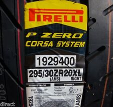 New Pirelli P ZERO PZERO Corsa System Right 295/30R20 295/30ZR20 295/30/20 TIRE