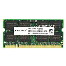 New 1GB DDR PC2700 DDR1 333MHz 200Pin CL2.5 Sodimm Laptop Memory Ram