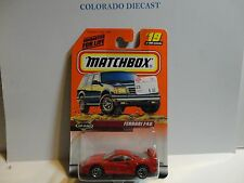 Matchbox #19 Red Ferrari F40