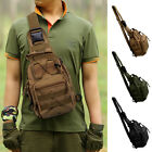 Molle Tactical Sling Chest Bag Assault Pack Messenger Shoulder Bag Backpack