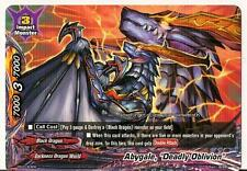 "4x Abygale, ""Deadly Oblivion"" Buddyfight Promo Rare HOT MINT FREE SHIP"