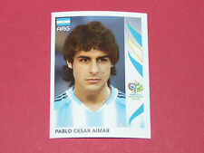 177 P.C. AIMAR  ARGENTINA PANINI FOOTBALL GERMANY 2006 WM FIFA WORLD CUP