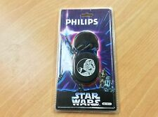 Star Wars headphones, in-ear, film promo 1997, gift, Philips, SBC HE136