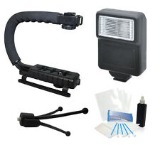 Camera Flash Grip Stabilizer Handle Accessories for Canon EOS 5D Mark II Camera