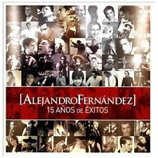 15 Anos de Exitos by Alejandro Fern ndez (CD, 2013, SME U.S. Latin)