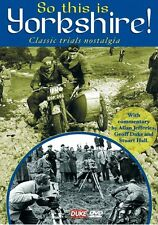 So This is Yorkshire - Classic Trials Nostalgia (New DVD) Motorcycle C H Woods