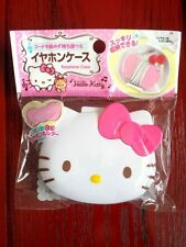 Hello Kitty Earphone Case with Ribbon Type Earphone Holder new Japan kawaii