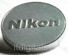 For Nikon Custom Made Metal Body Cap SLR DSLR AF MF Digital Film Camera New