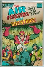 Eclipse Comics Air Fighters Meet Sgt Strike #1 January 1988 One Shot Special VF+