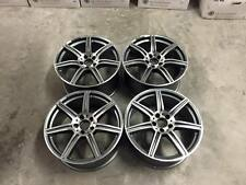 "19"" SLS AMG Style Wheels - Gun Metal Machined Mercedes C E Class W204 W205 W212"