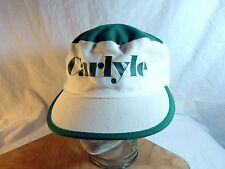 "Vintage Painter Style Hat Cap Green & White ""Carlyle"" Ireland St. Patrick's Day"