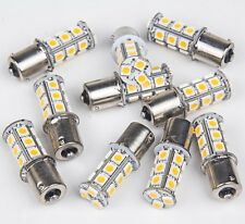 10x Warm White 2700K 1156 Camper Trailer RV Interior Light 1003 1141 18-LED Bulb