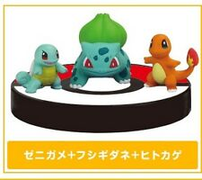 Tomy XY 01 1/40 Scale Real Pokemon Zukan Bulbasaur Charmander Squirt