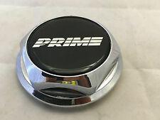USED PRIME WHEEL RIM CENTER CAP CHROME HEX NUT SNAP IN CAP PART # 93 C7709-5