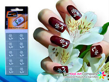 SmART-Nails - Leafs Flower Nail Art Stencils N015 Professional Nail Product
