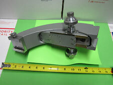 MICROSCOPE PART REICHERT AUSTRIA ZETOPAN FRAME + MICROMETER AS PICTURED BIN#29