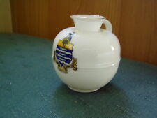 WORTHING SUSSEX CREST - CHERBOURG MILK CAN - GOSS CRESTED CHINA