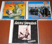 THE ANGRY SAMOANS - complete discography 1980-1988 - 3 CD LikeNew VeryRare