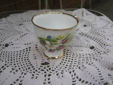 Imperial Fine Bone China Footed Cup Floral Spray Motif Gold Trim 22K Gold
