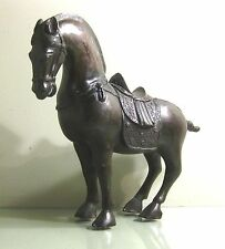 Vintage Chinese Bronze Horse Statue