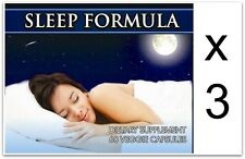3x Sleeping Pills Tablets Deep Sleep Insomnia Stress Strong Restless Sleep Aid