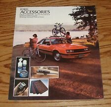 Original 1979 Ford Accessories Sales Brochure 79 Mustang Thunderbird