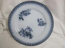 ancienne et rare assiette à décor japonnais signé et gravée en creux longwy