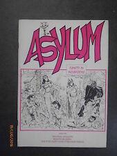 ASYLUM n° 1 - Fanzine Amatoriale - 1992