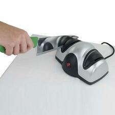 Professional Kitchen Razor Sharp Pro, Electric 2 Stage Knife Sharpener KJ