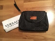 Versace Black and Gold Perfume Bag NEW