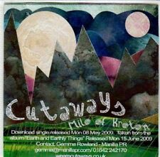 (DG217) Cutaways, Milo Of Kroton - 2009 DJ CD