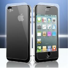 Front & Back 100% Genuine Tempered Glass Film Screen Protector for iPhone 4 4s