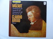 MOZART Fantaisie K.475 et K.397 , Sonate K.457 , Rondo K.511 ARRAU 6500782