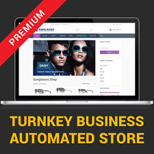 Automated Sunglasses Store - Affiliate Business Website For Sale
