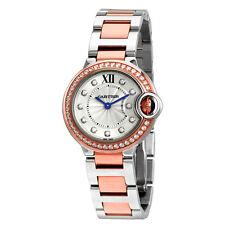 Cartier Ballon Bleu Silver Dial Ladies Watch W3BB0009