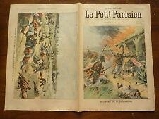 PETIT PARISIEN - 1902  n° 690 meurtre Cazeneuve CONGO / naufrage ile de WIGHT