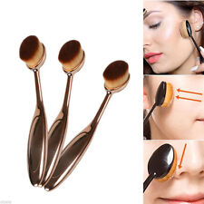 1Pcs Pro Oval Makeup Brush Cosmetic Cream Foundation Powder Contour Kabuki Tool