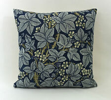 "William Morris Bramble Indigo/Mineral 224463  Cushion Cover 18""x18"""