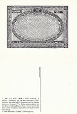 1980's REPRO OF ENVELOPE DESIGNED BY CHARLES WHITING UNUSED POSTCARD